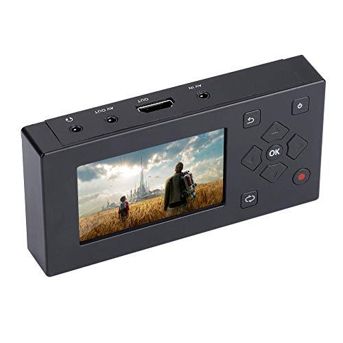 Tangxi Portable 3-Zoll-TFT-Bildschirm AV-Recorder Audio- und Videokonverter Videoaufzeichnungs-Player,VHS-zu-Digital-Konverter zur Videoaufzeichnung von Videorecorder,VHS-Kassetten,Hi8,Camcorder - Player Kassette Hi8 Video