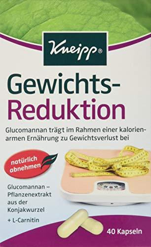 Kneipp Gewichts-Reduktion Kapseln 40er, 2er Pack (2 x 18,7 g)
