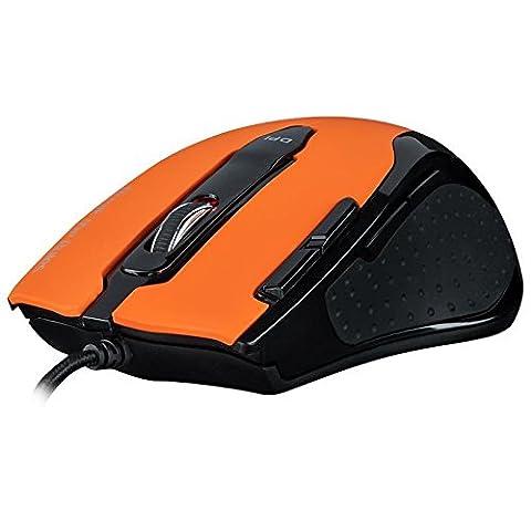 Tesoro Shrike H2L V2 Souris Gaming Orange