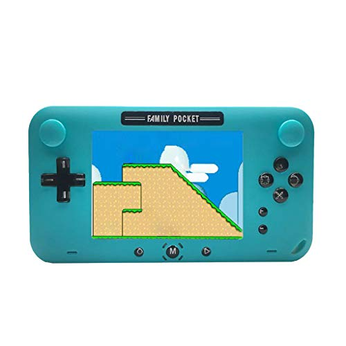 Handheld-Spielekonsole, Webla Handheld-Spielekonsole 4 Zoll 208 Spiel Retro-Spielekonsole NES klassische Spielekonsole, Abs -