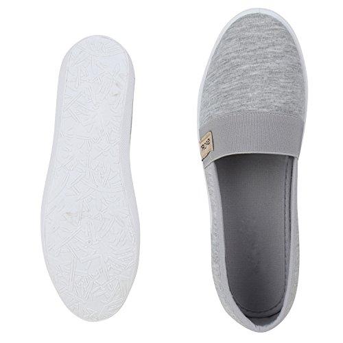 napoli-fashion , Mocassins femme Gris