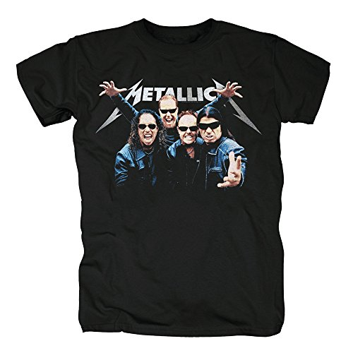TSP Metallica World Magnetic Tour T-Shirt Herren M Schwarz