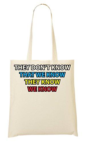 C+P They Don'T Know Tragetasche Einkaufstasche