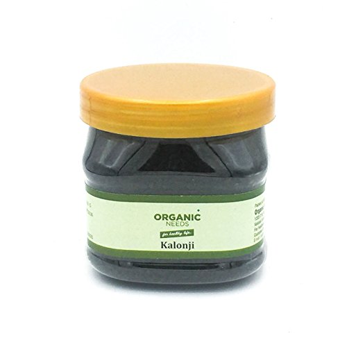Organic Needs Natural Nigella Seeds (Kalonji) 100 Gm