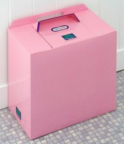 Pink Einweg Sanitär Bin-Trial Stück Brilliant Mülleimer: Preisgekrönte, niedrige Kosten, keine Verträge