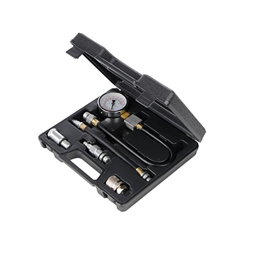 Preisvergleich Produktbild Silverline 598559 Kompressionsprüfer für Benzinmotoren,  5-tlg.
