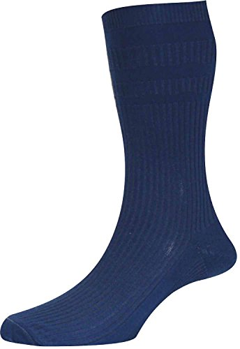 3 Pair Pack HJ91 Hall MENS SOFTOP Loose Wide Top Non Elastic Cotton Rich Socks