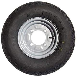 leisure MART Anhänger-Rad Und -Reifen Für Daxara und Erde, 4-lagiger Reifen, 1016x 20,3cm (400 x 8 Zoll), 115mm PCD, Produktnr.LMX628