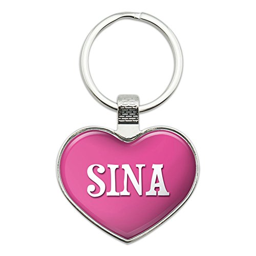 metal-keychain-key-chain-ring-pink-i-love-heart-names-female-s-sian-sina