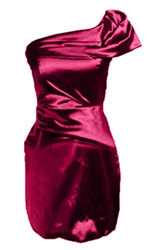 Missdressy - Robe - Crayon - Femme Fuchsia