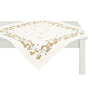 APELT 2215 88x88 20 Tischdecke, Baumwolle, beige, 88 x 88 cm
