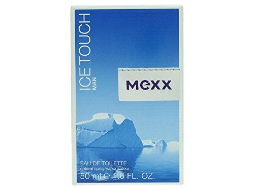 Mexx Ice Touch Man - Eau de Toilette Natural Spray - Erfrischend aromatisches Herren Parfüm mit Grapefruit, Zedern und Sandelholz - 1 er Pack (1 x 50ml)