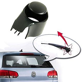 BAAQII Rear Window Wiper Arm Cap Washer Cover Windscreen Rear Wiper Arm Cap Cover Washer Arm Blade Cover Cap For VW Golf Passat Polo Touran Caddy