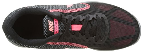 Nike Damen Revolution 3 Sneakers Mehrfarbig (Black / Lava Glow / Hot Punch / Cool Grey)
