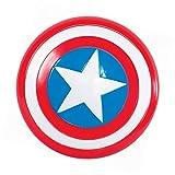 Generique Captain America-Schild Zubehör Kinder Einheitsgröße