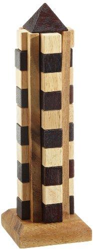 Philos 6045 - Wolkenkratzer, Höhe 25 cm, 11 Puzzle Teile, Knobelspiel