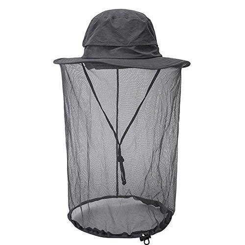 Kostüm Bergsteiger - QWE Sommer - Outdoor - Anti - mücken - Hut Hut Hut Bewegung Schnell getrocknet Sonnencreme Gesicht anglerhut Bergsteiger - Hut Hut Hut