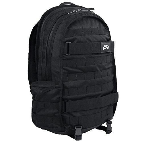 Nike Herren Nk Sb Rpm Bkpk - Solid Rucksack, Schwarz Black, 15x24x45 centimeters