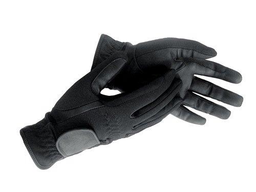 HKM Winter-Reithandschuh aus Lederimitat, Grösse M (20-22 cm), schwarz