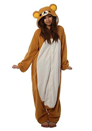 TAN-023-1 Southwark fall and winter fleece Rilakkuma costume adult (japan - Rilakkuma Bären Kostüm