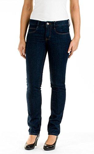 TOM TAILOR Damen Slim Jeanshose Alexa, Gr. W29/L30 (Herstellergröße: 29), Blau (rinsed lewd denim 1100)