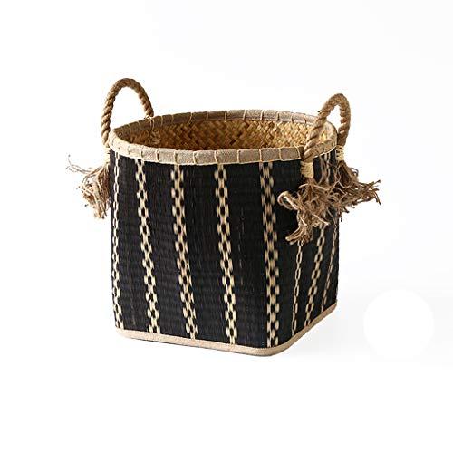 BONAEDirty Wäscherei Hamper Sorter Basket, Dirty Clothes Bag Storage Basket Dirty Clothes,S
