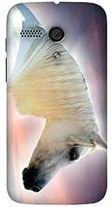 Beautiful multicolor printed protective REBEL mobile back cover for Motorola Moto G (2014) 1st Gen D.No.N-L-18775-MG1