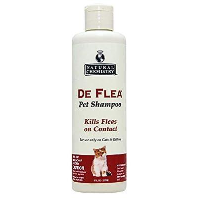 De Flea Ready to Use Flea Shampoo for Cats & Kittens 8oz from NATXZ