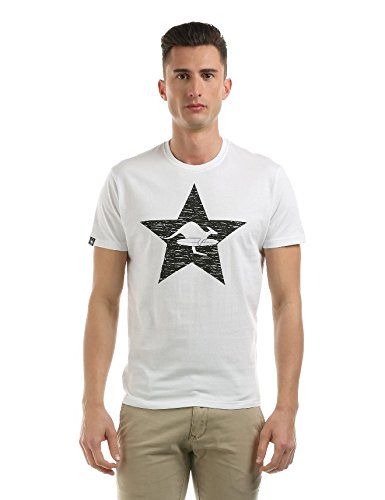 Hot Buttered T-shirt manches courtes Star Blanc blanc L