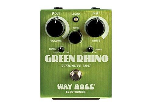 PEDALES EFECTO WAY HUGE   DUNLOP (WHE202) GREEN RINO