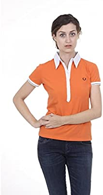 Fred Perry Fred Perry Womens Polo 31032179 0126 ARANCIONE
