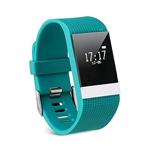 Smart Armband mit Fitness Tracker, COSITEA R2 Smart Armband mit Schlaf Monitor und Schritt Tracker , IOS und Android fähig, Bluetooth 4.0, Liebespaar Armband , Selfie Fernbedienung,