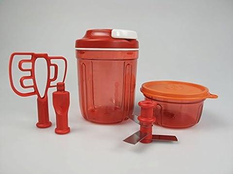TUPPERWARE Turbo Multi Chef 2 Behälter + Deckel orange (Multi Chef)