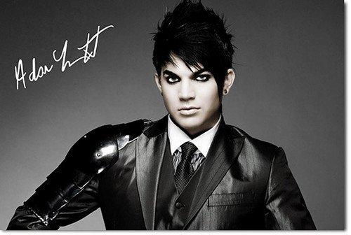 Adam Lambert Signiert Autogramme 21cm x 29.7cm Plakat Foto (Lambert-songs Adam)
