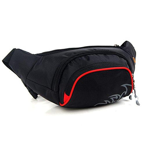 Multifonctionnel Sport Extérieur Loisir Voyage Mâle Mode Multifonctionnel Coffre Waist Packs Sac