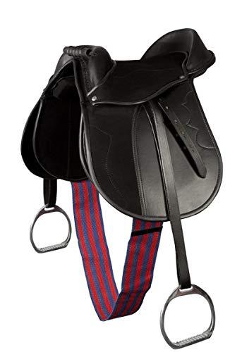 Pony-Sattel-Set, schwarz 15