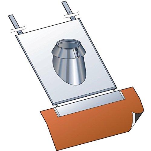 Solin pour tuile CONDENSOR , pente 15 à 30°, diamètre 130 mm Réf. SIT 30 130 SLCD / 45130170
