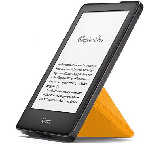 Forefront Cases Smart Hülle für Kindle 2019 | Magnetische Schutzülle Cover Ständer für Amazon Kindle (10. Generation - 2019 Modell) | Origami Design & Auto Schlaf Wach | Elegant Dünn Leicht | Gelb (Gelb Kindle Abdeckung)