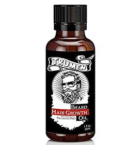 Beard Growth Oil From TruMen for Thicker, Soft and Healthy Hair 30ml (1.01 fl.oz)