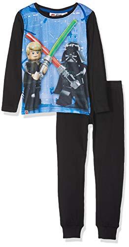Lego Wear Jungen Zweiteiliger Schlafanzug Lego Boy Star Wars CM-73151 Pyjama, Mehrfarbig (Black 995), 134