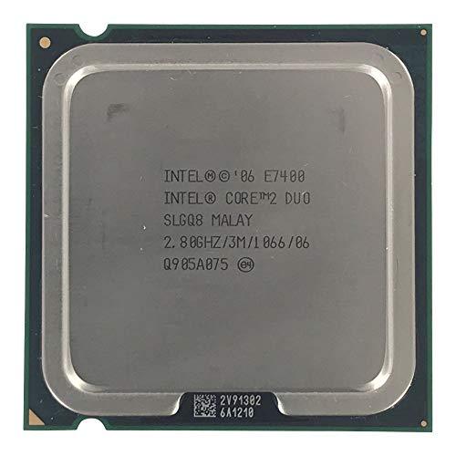 Intel SLGQ8 Core 2 Duo E7400 2 8GHz 3M 1066 LGA775 Prozessor Use - Prozessor Intel 2 Core Lga775 Duo