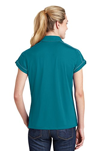 sport-tek Micropique da donna sport Wick polo Tropic Blue
