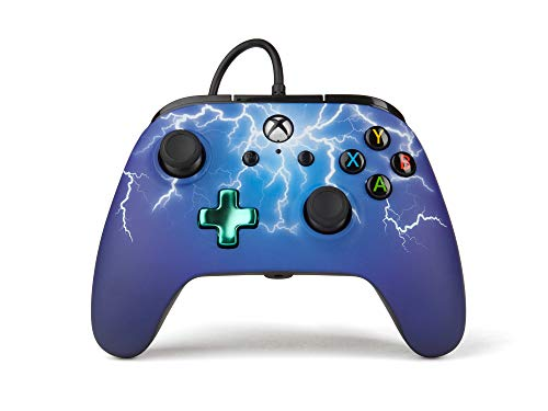 PowerA - Mando Xbox one/Pc cable Spider Lightning