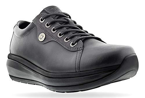 Joya Womens Paris 2 Black Leather Shoes 40 1/3 EU