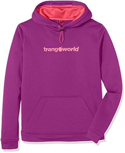 Trango Poppi Sweat-shirt Femme Morado Dahlia/Rosa Fluor