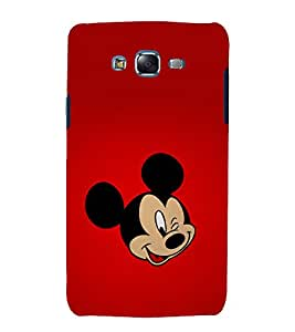printtech Disneyy Mickey Mouse Back Case Cover for Samsung Galaxy E5 / Samsung Galaxy E5 E500F