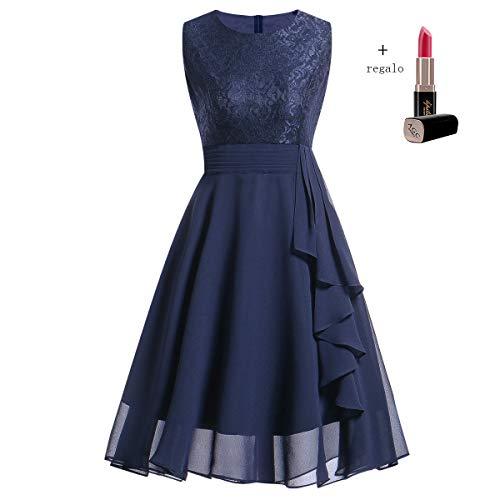 319a39f71 Kinlene Vestido de Mujer - Vestido de Fiesta de Noche Casual Swing Dress  Elegantes de Noche