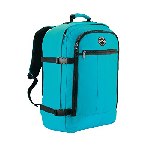 Cabin Max - Sac à dos et bagage à mains pour cabine- capacité brute de 44l… (Biscay Blue)