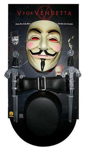 V for Vendetta Kostüm Kit (V For Vendetta Kit)