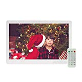 Marco Digital Andoer 13 ' IPS LED Marco Digital de Foto Alta Resolución 1920*1080 (Reproductor MP3 y MP4) / Video / E-book,Despertador,Calendario,Con Control Remot ,Regalo para Navidad